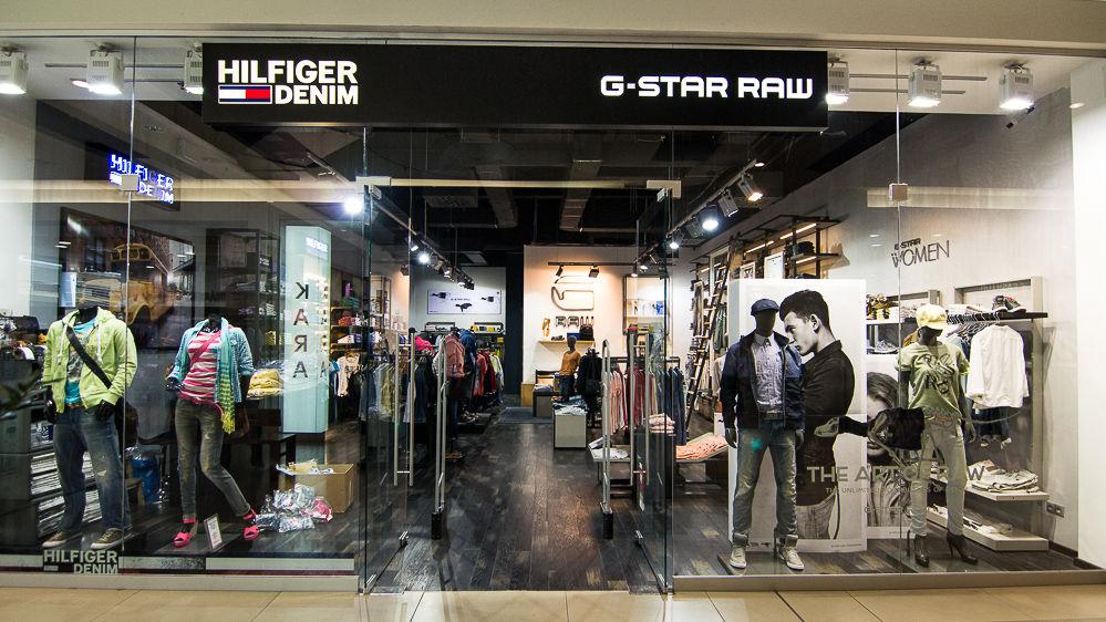 V našom obchode ponúkame kolekciu G-Star Raw a Hilfiger Denim - oblečenie  pre dámy i pánov 3cc20c3fe31