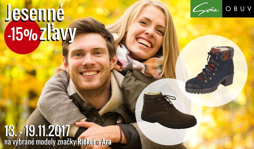 f4006a602d6c Využite akciu 15% na vybrané modely Rieker a Ara Ísť na stránku obchodu